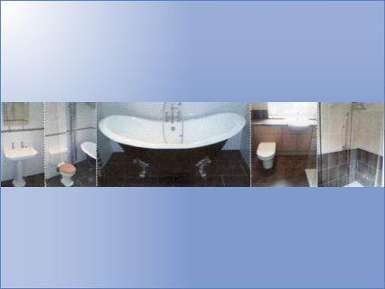 toilets/showers/baths fitted