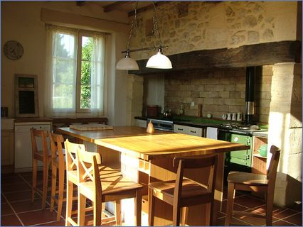Traditional french kitchen created