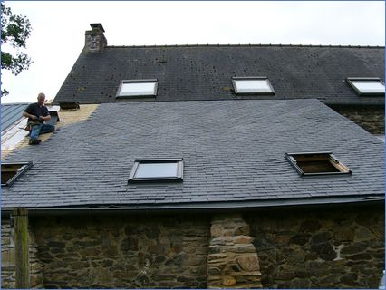 Stage 3 Tiling and Velux Windows