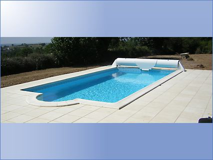 Pool and terrace near LAbsie 79