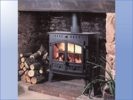 wood burners/central heating fitted