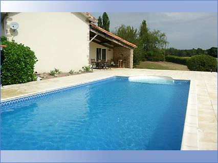 10 x 5 pool and terrace Largeasse