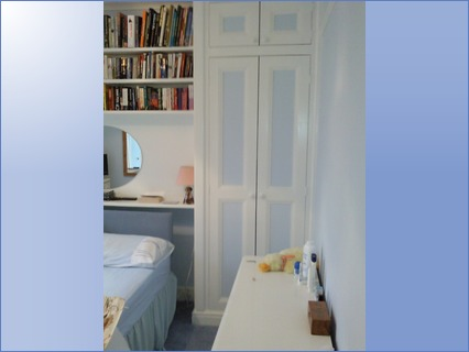 Built in Wardrobe and Book Shelves